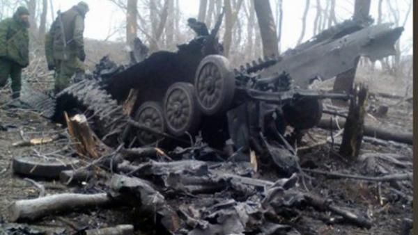 Там много техники: в сети показали фото базы россиян в Луганске (фото)
