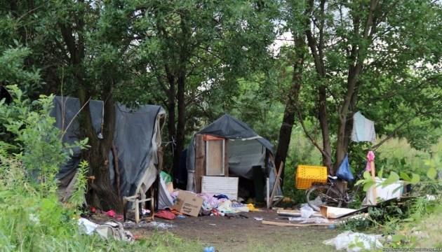 «Нацдружины» открестились от нападения на лагерь ромов во Львове