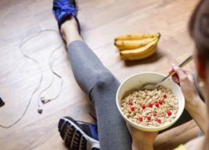 Как правильно сочетать еду и спорт