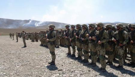 Украинские морпехи приняли участие в военных учениях в Грузии